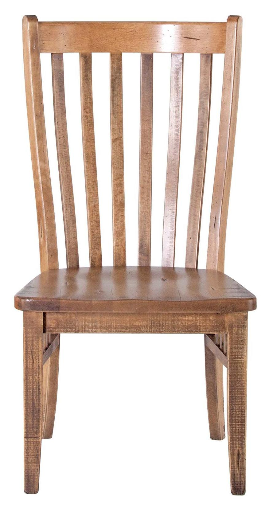Slatted Back Chairs ~ Canadel champlain custom dining cnn dna
