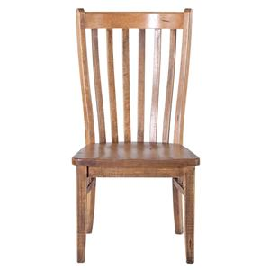 <b>Customizable</b> Slat Back Side Chair