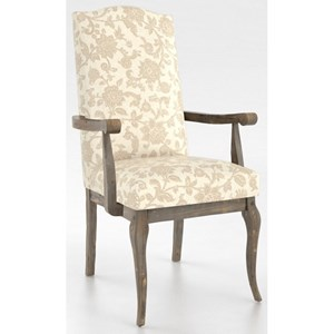 Canadel Champlain - Custom Dining Customizable Arm Chair