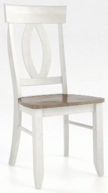 Champlain - Custom Dining Chair by Canadel at Johnny Janosik
