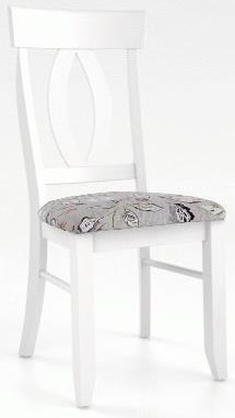 Champlain - Custom Dining Upholstered Chair by Canadel at Johnny Janosik