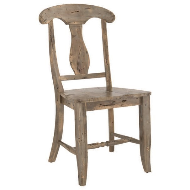 Champlain - Custom Dining Customizable Dining Side Chair by Canadel at Jordan's Home Furnishings