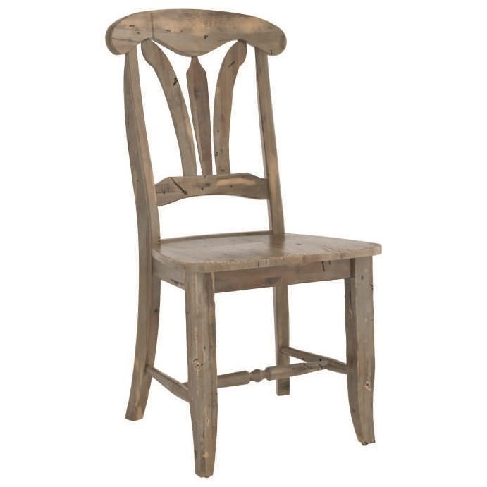 Champlain - Custom Dining Customizable Side Chair by Canadel at Saugerties Furniture Mart