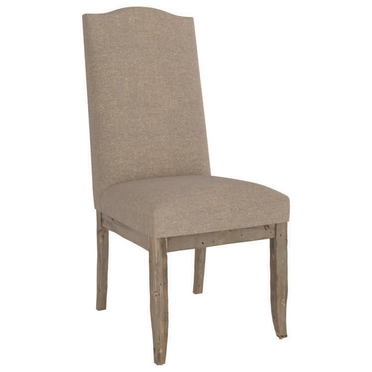 Champlain - Custom Dining Customizable Upholstered Side Chair by Canadel at Jordan's Home Furnishings