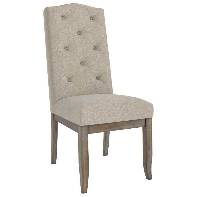 Champlain - Custom Dining Customizable Upholstered Side Chair by Canadel at Saugerties Furniture Mart