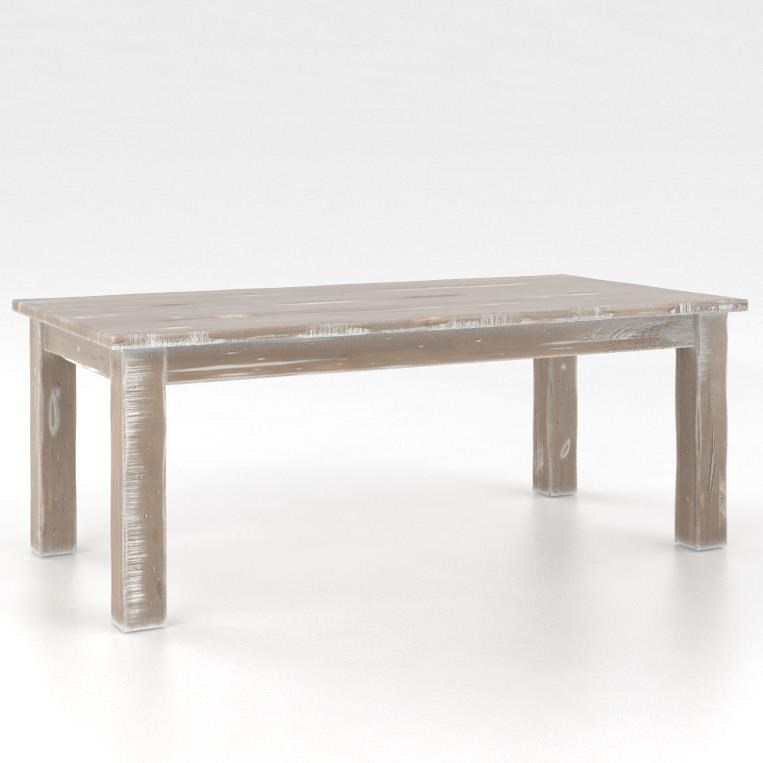 Champlain - Living <b>Customizable</b> Coffee Table by Canadel at Saugerties Furniture Mart