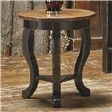 Canadel Champlain - Living <b>Customizable</b> Round End Table - Item Number: ERN021213363DGAN