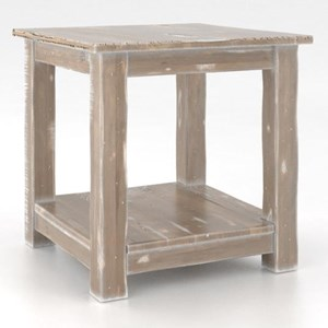 Canadel Champlain - Living Customizable Square End Table