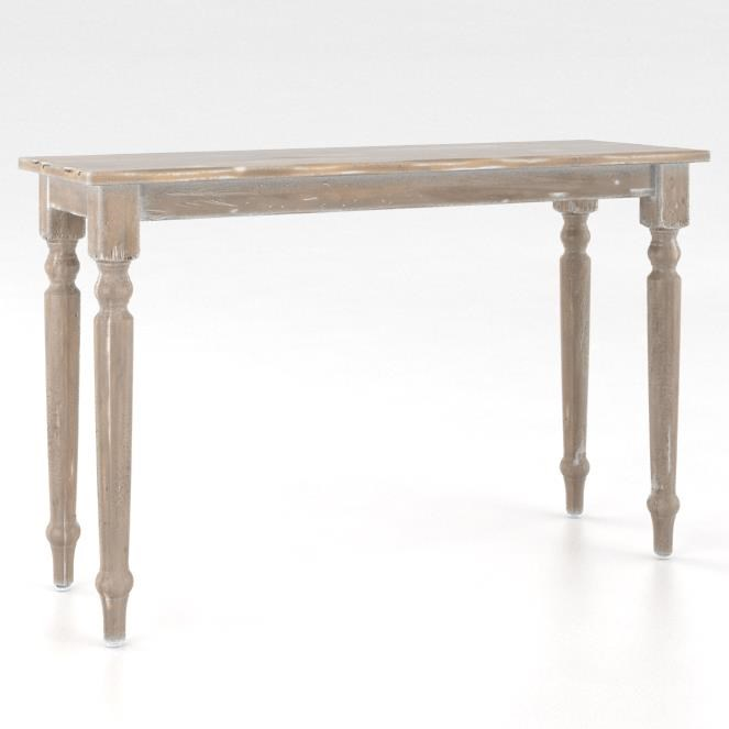 Champlain - Living Customizable Sofa Table by Canadel at Saugerties Furniture Mart