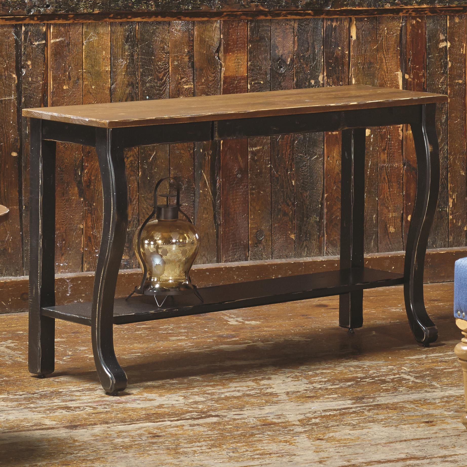 Champlain - Living <b>Customizable</b> Sofa Table by Canadel at Saugerties Furniture Mart
