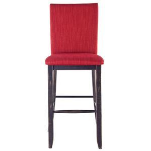 "Canadel Champlain - Custom Dining <b>Customizable 30"" Upholstered Fixed Stool"