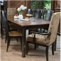Canadel Champlain - Custom Dining <b>Customizable</b> Dining Table - Item Number: TAB 0-4292