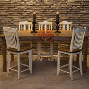 <b>Customizable</b> Pub Table and Chair Set