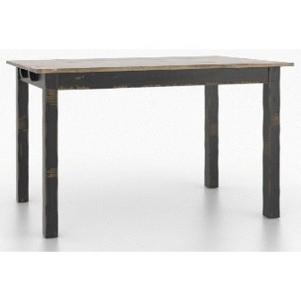 Champlain - Custom Dining Customizable Rect. Counter Table by Canadel at Jordan's Home Furnishings