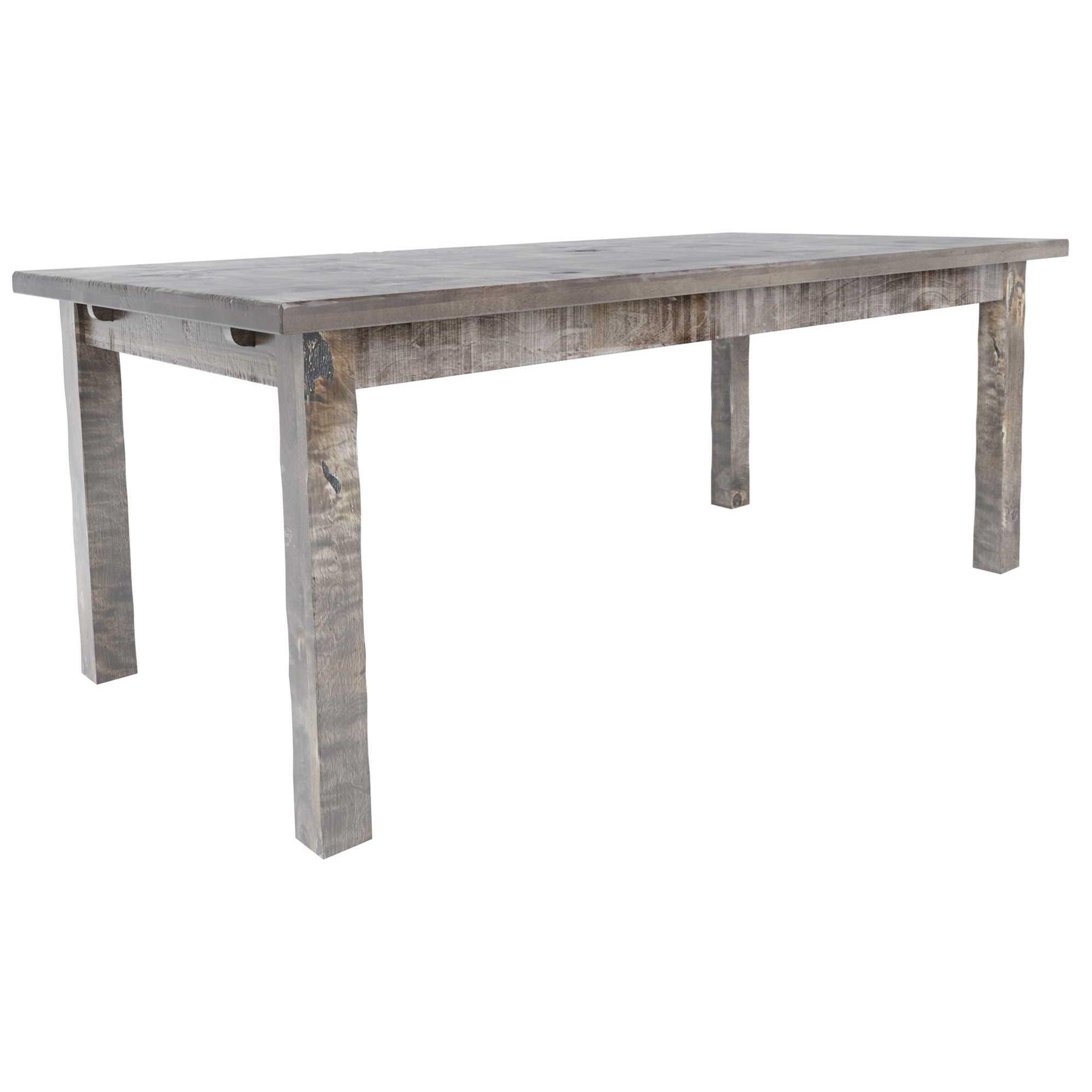 Champlain - Custom Dining Customizable Rectangular Wood Top Table by Canadel at Jordan's Home Furnishings
