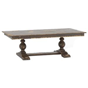 Customizable Rectangular Table w/ Trestle