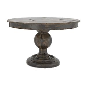 "Canadel Champlain - Custom Dining 48"" Round Wood Solid Top Table"