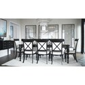 Canadel Classic Formal Dining Room Group - Item Number: Set 3 Dining Room Group 1