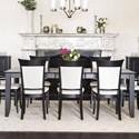 Canadel Classic Customizable Rectangular Dining Table - Item Number: TRE042686363MEEC1