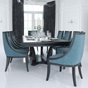 Canadel Classic Rectangular Dining Table Set - Item Number: TRE4288+BAS+8xCNN0319