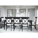 Canadel Classic Rectangular Dining Table Set - Item Number: TRE4868+8xCNN5164