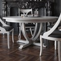Canadel Classic Customizable Round Dining Table - Item Number: TRN060609494MCPNF+BAS
