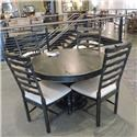 Canadel Clearance Dining Table & 4 Chairs - Item Number: 978778396