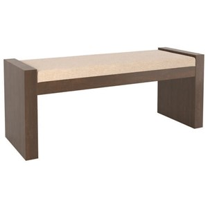 Customizable Upholstered Dining Bench