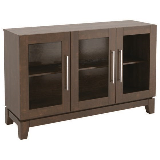 Contemporary Customizable Buffet by Canadel at Dinette Depot