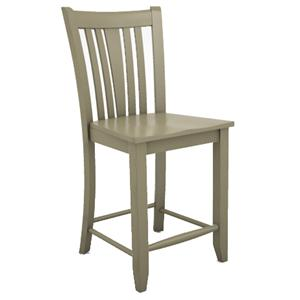 "Canadel Custom Dining - High Dining  <b>Customizable</b> 24"" Stool"