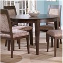 Canadel Custom Dining <b>Customizable</b> Round Table with Legs - Item Number: TRN048482929MPGCF