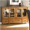 Canadel Custom Dining <b>Customizable</b> Buffet - Item Number: BUF068440303MT1