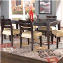 Canadel Custom Dining <b>Customizable</b> Rectangular Table - Item Number: TRE038683030MPGT1