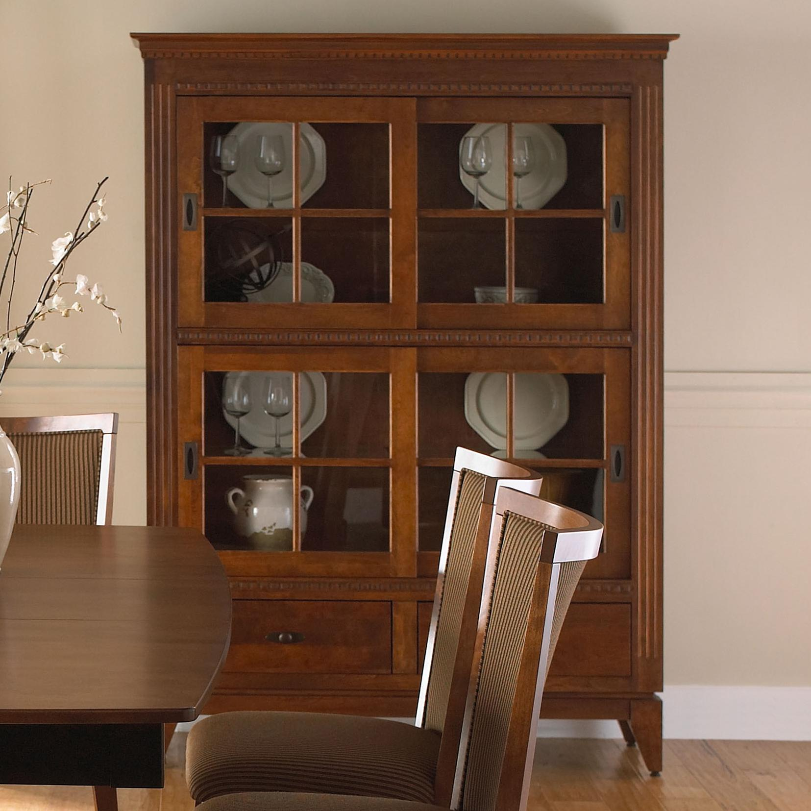 Custom Dining Customizable Buffet China Cabinet By Canadel