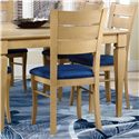 Canadel Custom Dining <b>Customizable</b> Upholstered Side Chair - Item Number: CHA02399TK20MNA