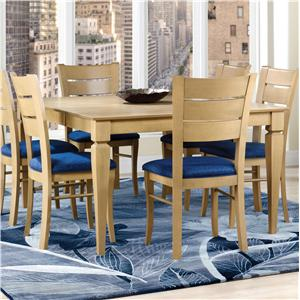 Canadel Custom Dining <b>Customizable</b> Square Table with Legs