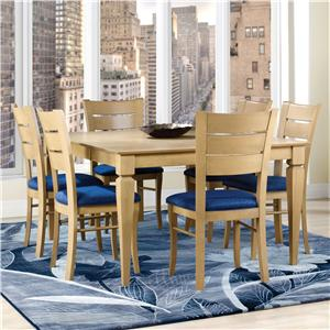 Canadel Custom Dining <b>Customizable</b> Square Table Set