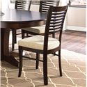 Canadel Custom Dining <b>Customizable</b> Upholstered Side Chair - Item Number: CHA00229PW18MNA