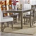 Canadel Custom Dining Customizable Rectangular Table with Legs - Item Number: TRE042684949MPGD1