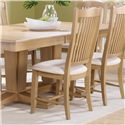Canadel Custom Dining <b>Customizable</b> Upholstered Side Chair - Item Number: CHA00232HO20MPC