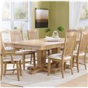 Canadel Custom Dining <b>Customizable</b> Rectangular Table - Item Number: TRE048682020MTZD1