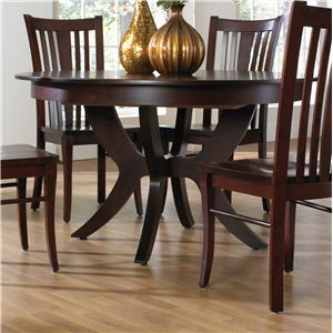 Canadel Custom Dining <b>Customizable</b> Round Table w/ Pedestal