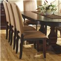 Canadel Custom Dining <b>Customizable</b> Upholstered Side Chair - Item Number: CHA07100KP12APC