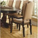Canadel Custom Dining <b>Customizable</b> Upholstered Arm Chair - Item Number: CHA07100KP12APCWA