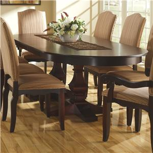 Canadel Custom Dining <b>Customizable</b> Oval Table with Leaves