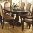 Canadel Custom Dining <b>Customizable</b> Oval Table with Leaves - Item Number: TOV042621212ATPD2