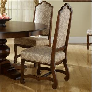 Custom Dining Chairs canadel custom dining furniture at becker furniture world - twin