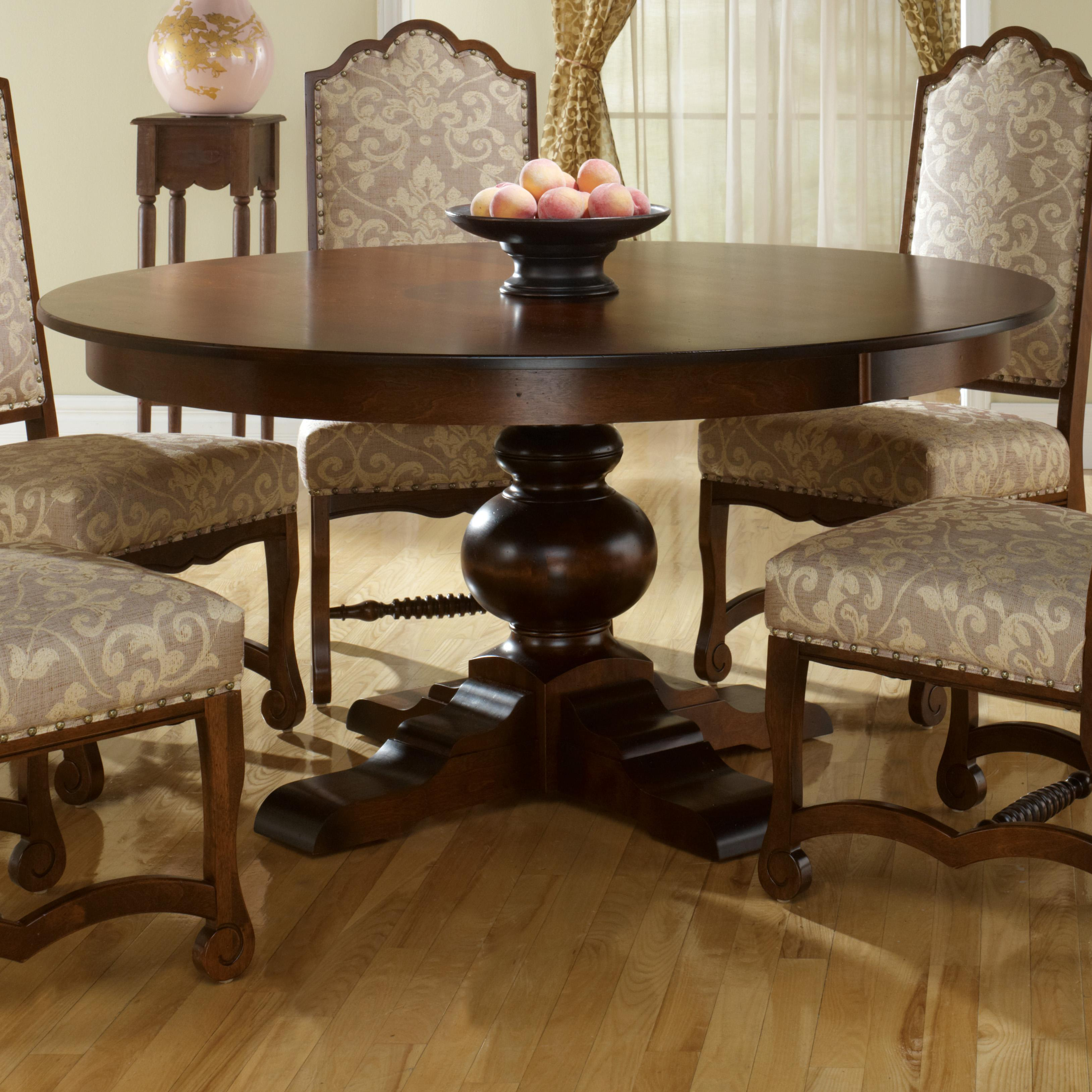 Custom Kitchen Tables: Canadel Custom Dining TRN060602727AXTDF Customizable Round