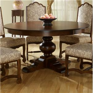 Canadel Custom Dining Customizable Round Table Set with 6 Chairs ...