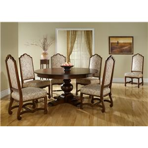 Canadel Custom Dining <b>Customizable</b> Round Table Set